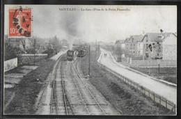 CPA 95 - Saint-Leu, La Gare - Prise De La Petite Passerelle - Saint Leu La Foret