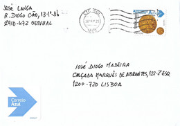 Portugal Cover Coin Stamp - Cartas