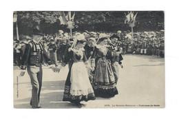CTH-Danse-La Gavotte Bretonne Costume De Scaer - éditions Villard Quimper - Dans