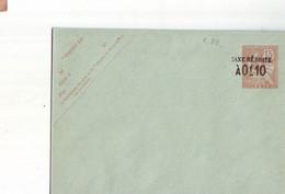 208  ENT Entier Postal  Crete ENV - Non Classificati