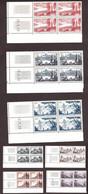 Coins Datés 1955 Des N° 1036 à 1042 - Neufs ** - Série Touristique - 1950-1959