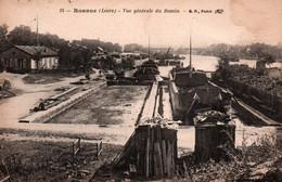 N°98 A  ROANNE VUE GENERALE DU BASSIN - Roanne