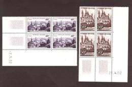Coins Datés 1952 Des N° 916 Et 917 - Neufs ** - Pic Du Midi - Abbaye Aux Hommes - 1950-1959