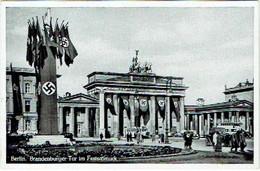 Berlin. Brandenburger Tor Im Festschmuck. - Sin Clasificación