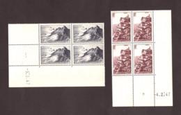 Coins Datés 1947 Des N° 763 Et 764 - Neufs ** - Rocamadour - Pointe Du Raz - 1940-1949
