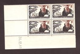Coin Daté 24.12.40 Du N° 496 - Neuf ** - Lutte Contre Le Cancer - 1940-1949