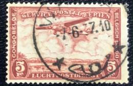 Congo Belge - Belgisch Congo - D2/10 - (°)used - 1934 - Michel 150 - Landschap Met Vliegtuig - Airmail: Used