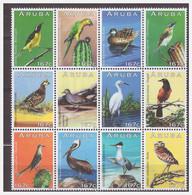 Aruba 2013 Vogels Birds Parrot Heron Duck Owl MNH - Curacao, Netherlands Antilles, Aruba