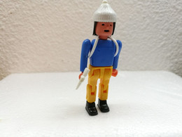 Kinder : Sportler 1987 - Bergsteiger- Zuberhör Weiss - Inzetting