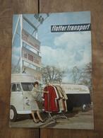 Revue En Allemand - The Desperate VW Bus , Volkswagen Combi / Flotter Transport ...toutes Les Possibilités Du Combi - Auto