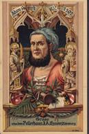 Deutsches Reich PPC Gruss Aus Dem Pellerhaus J. A. Füsser Bildhauer Nürnberg Adam Kraft 1452-1507 Free Mason Freimaurer - Nuernberg