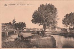 Arquennes. Pont Du Warchais Et Gendarmerie. Scan - Non Classés