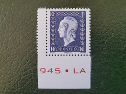 France Timbre NEUF Neuf ** Année 2015 - N° 4986  - Marianne De Dulac - Unused Stamps