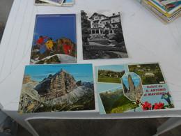 4 Cartoline  DOLOMITICHE   DIVERSE - Altre Città