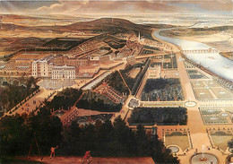 92 - Saint Cloud - Vue Du Château Et Des Jardins De Saint-Cloud En 1677 - D'après Une Gravure D'époque - Gravure Lithogr - Saint Cloud