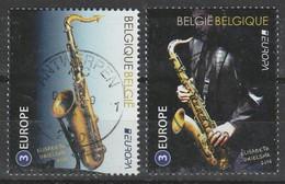 4427/4428 Europa Aldolf Sax Oblit/gestp Centrale - Used Stamps
