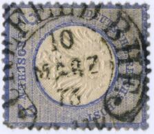 SPALINK 6-8, CREFELD BHF, AUF REICH NR. 5, TOPP STPL! - Used Stamps