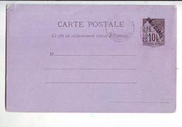 249  ENT Entier Postal  Diégo Suarez CP - Covers & Documents