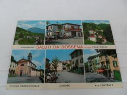 Cartolina  DOSSENA  Vedutine - Altre Città