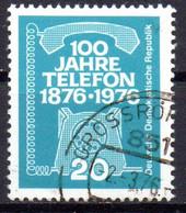 "(DDR-BM1) DDR ""100 Jahre Telefon"", Mi 2118, Sauber Gestempelt - Gebruikt"
