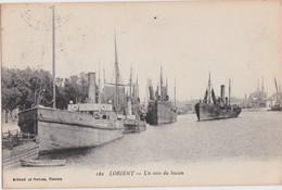 Bv - Cpa LORIENT - Un Coin Du Bassin - Lorient