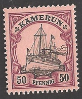Deutsche Kolonien Kamerun Michel Nummer 14 Postfrisch - Colony: Cameroun