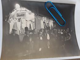 GROTE ORGINELE FOTO AFMETINGEN 24 CM OP 18 CM OP T' BERGSKEN BILJARTCLUB MOL BELGIQUE 1934 - Other