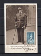 FRANCE - FR144 - Carte Maximum - CO - PJ - 1941 - N° 471 - Pétain - 1940-49