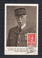 FRANCE - FR145 - Carte Maximum - CO - PJ - 1941 - N° 472 - Pétain - 1940-49