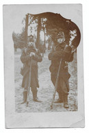 Militaria Soldats Armée Belge Beverloo 1907  Photo Carte - Oorlog, Militair