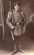 Deutscher Soldat Mütze Gewehr 88 - Guerre 1914-18