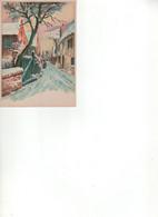 BARRE & DAYEZ VILLAGE SOUS LA NEIGE- 1375 C - Barday