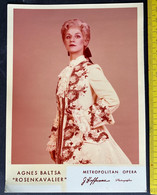 Agnes Baltsa Aus Rosenkavalier/ Metropolitan Opera/ Photo - Famous People