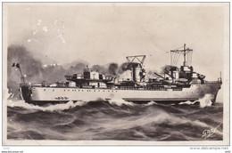 MARINE DE GUERRE FRANCAISE LE CONTRE TORPILLEUR TERRIBLE - Warships