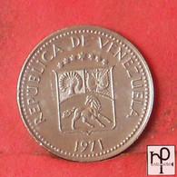 VENEZUELA 5 CENTIMOS 1971 -    KM# 38,2 - (Nº44258) - Venezuela