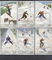Liebig Chromo - De Skisport - 1939 - Liebig