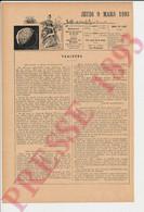 Presse 1893 Les Cartes à Jouer Du Roi Charles VI Jeu De Cartes Histoire Amiot Arnaut Belin Enlumineur Dijon   249/30 - Non Classificati