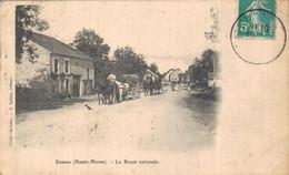 H0908 - BANNES - D52 - La Route Nationale - Andere Gemeenten