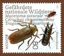 BRD 2021  Mi.Nr. 3605 , EUROPA CEPT Gefährdete Nationale Wildtiere - Gestempelt / Fine Used / (o) - Gebruikt
