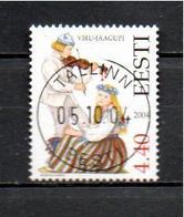 Timbre Oblitére D'Estonie  2004 - Estonia