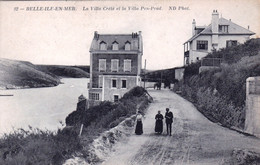 56 - Morbihan - BELLE ILE En MER - La Villa Creté Et La Villa Pen Prad - Belle Ile En Mer
