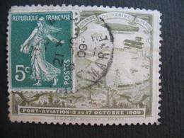 Vignette Label Stamp Vignetta Filatelico Aufkleber France  Port-aviation 1909  Grande Quinzaine De Paris  à Voir - Aviation