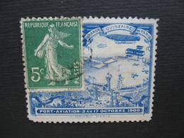 Vignette Label Stamp Vignetta Filatelico Aufkleber France  Port-aviation 1909  Grande Quinzaine De Paris  Dont Léger Ami - Aviation