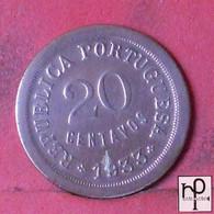 GUINÉ 20 CENTAVOS 1933 -    KM# 3 - (Nº44294) - Guinea-Bissau
