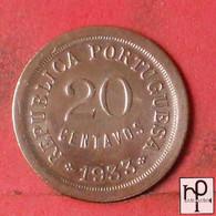 GUINÉ 20 CENTAVOS 1933 -    KM# 3 - (Nº44295) - Guinea-Bissau