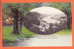 All262 ♥️ Rare TRIER Rheinland-Pfalz Blick MOSELTHAL Gruss Trierer SCHWEIZ 1900s Original Aufnahme Verlag KIESGEN - Trier