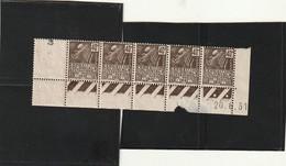 ///  FRANCE  //// Coin Daté N° 271 **( Timbres) Côte 30€ En Bloc Pas En Bande - 1930-1939