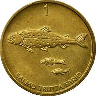 Monnaie, Slovénie, Tolar, 1995, TTB, Nickel-brass, KM:4 - Slovenia