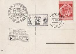 German Military Army Procession 1940 WW2 FDC Postcard - Non Classificati