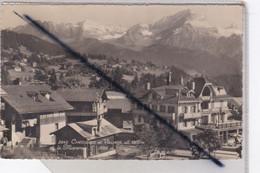 Suisse - Chesières Et Villars (alt, 1300m) Et La Muveran (3055m) - VD Vaud